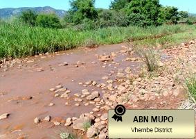 Stones germinating along Nzhelele River