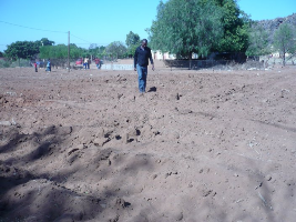 soil before planting